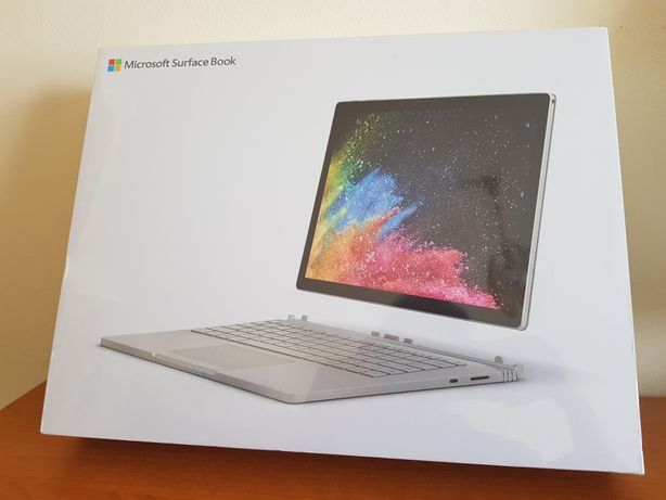 Microsoft Surface Book 2 i7 16gb/512gb