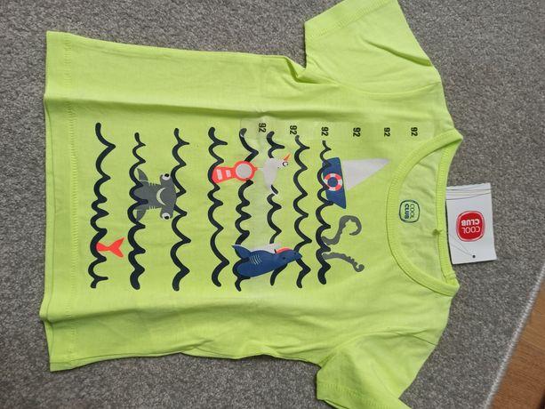 Nowa z metką koszulka 92 cool club