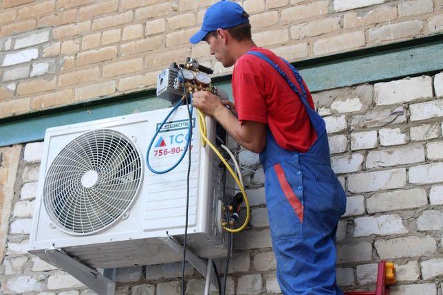Монтаж ремонт обслуживание кондиционера