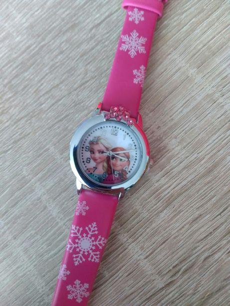 Zegarek dziecięcy wzór Kraina Lodu Frozen