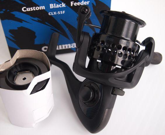 Катушка Okuma Custom Black Feeder CLX-55F