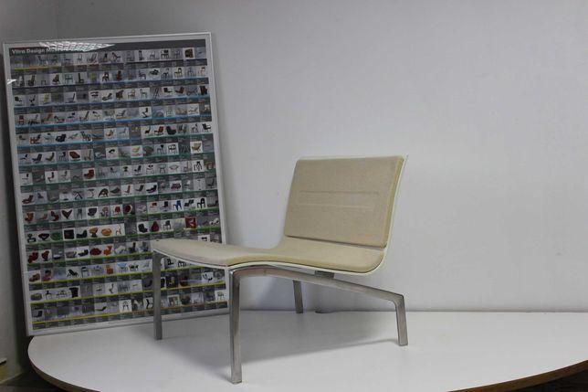 Fotel Fritz Hansen projekt Piero Lisson (Vitra,Herman Miller) vintage