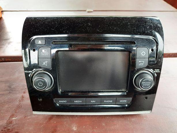 Fiat 500 / 500x  Navi Nawigacja Wyświetlacz Radio