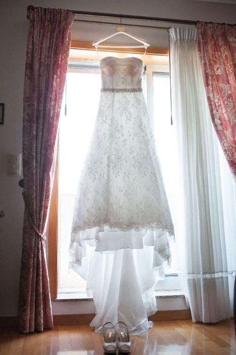 Vestido de noiva marca AIRE VINTAGE Vila Nova de Gaia - imagem 1