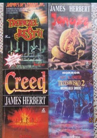 Horrory - książki