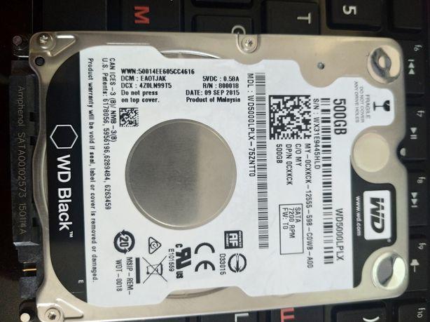 Продам жёсткий диск HDD 500 Gb WD Black