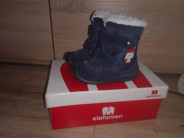 Buty śniegowce kozaczki chłopięce elefanten 22
