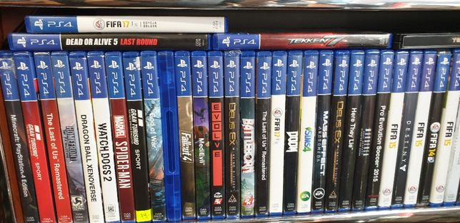 Gry Na PS4 Zamiana,sprzedaż