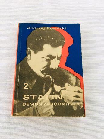 Andrzej Rosiński Stalin demon zbrodni i zła