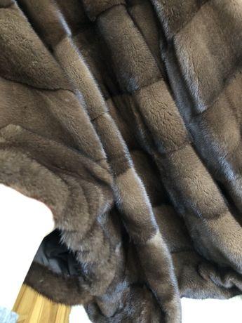 13.12 Киев примерки! Норковая шуба Gata fur, новая, nafa 90 см, 48-52
