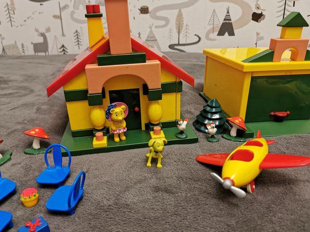 Domek, garaż, samochód i samolot Noddy