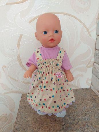 Интерактивная кукла Mу little Baby Born Учимся ходить