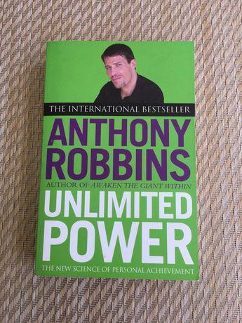 Livro Unlimited Power - Anthony Robbins