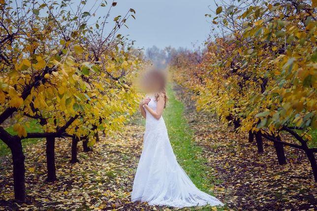 Suknia ślubna Margaret MS Moda 36 ślub piękna biała sukienka