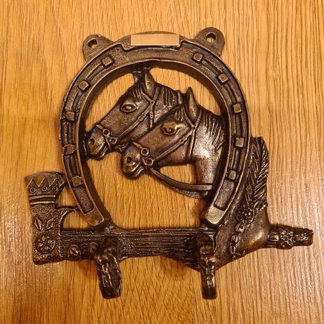Podkowa wieszak na klucze konie