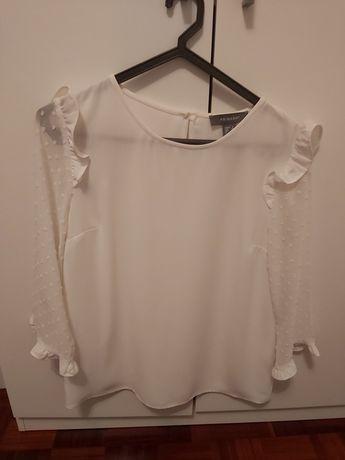 Blusa branca plumeti