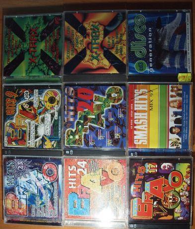 Zestaw płyt CD, płyty z muzyką, kolekcja CD. BRAVO Hits, DISCO