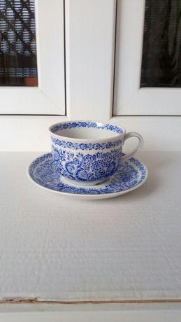 Filiżanka porcelanowa niebieska Agnetha Home