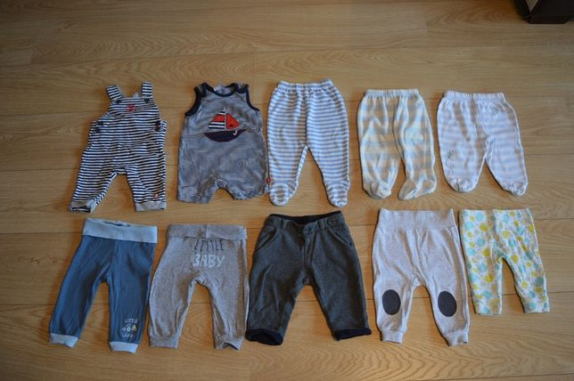 spodnie 62 chłopiec