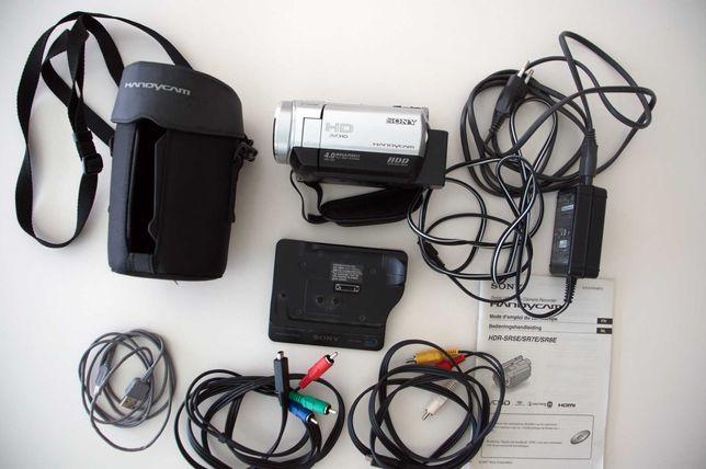 Camara de filmar HD 1080, com disco duro de 40GB Sony HDR SR5
