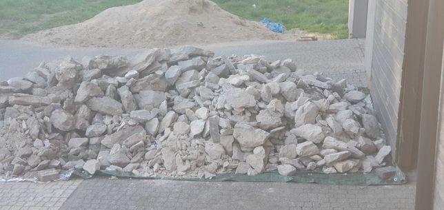 oddam gruz beton za darmo bez transportu
