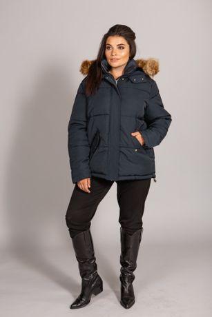 Пуховик Zara Куртка Парка Пух Перо Оригинал бирки Зима