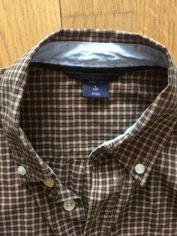 GAP Koszula chłopięca w kratkę(10lat), 142cm