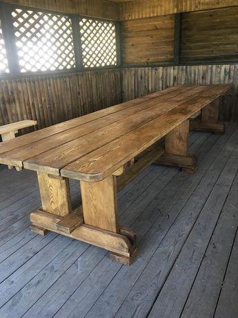 Продам обеденный стол из натурального дерева