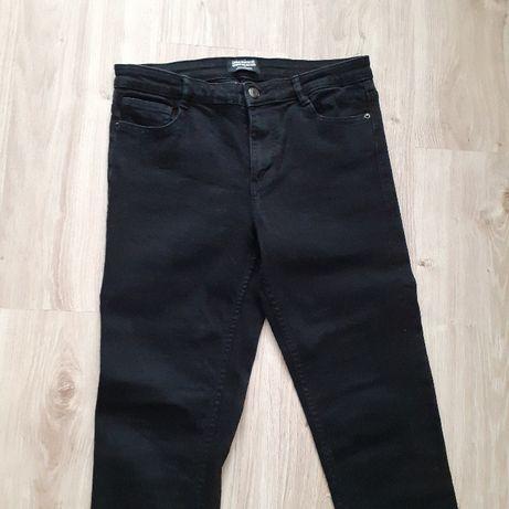 Czarne jeansy Zara