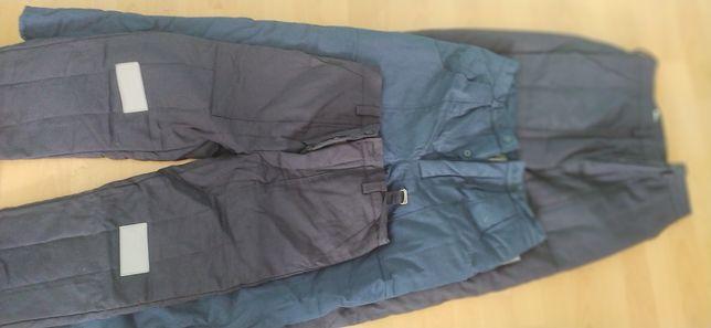 Spodnie robocze ocieplane nowe plus kufajka