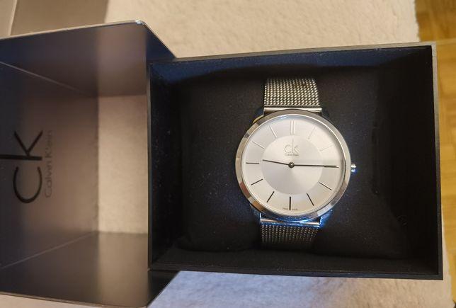 Relógio Calvin Klein prateado
