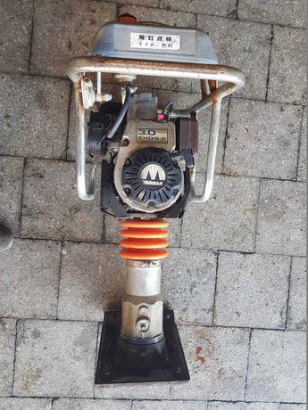 Saltitão compactador Mikasa MT-55 a gasolina - Motor Robin 3.0 EH09.2