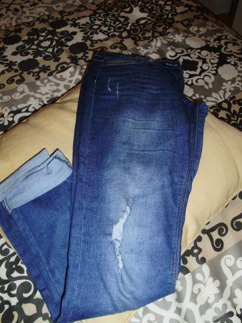 calça ganga 13-14 anos (usadas 1 vez)