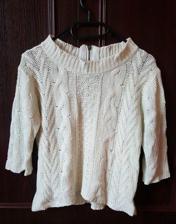 Krótki sweterek, rozmiar S