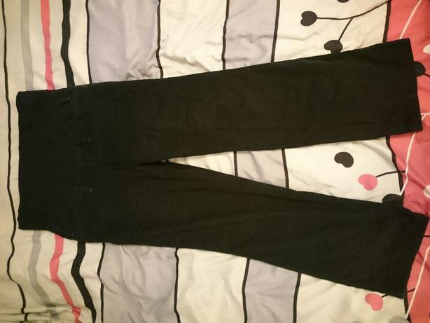Czarne spodnie ciążowe BRANCO M model 2210