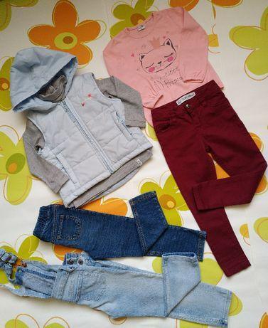 Набор вещей на девочку 98-104