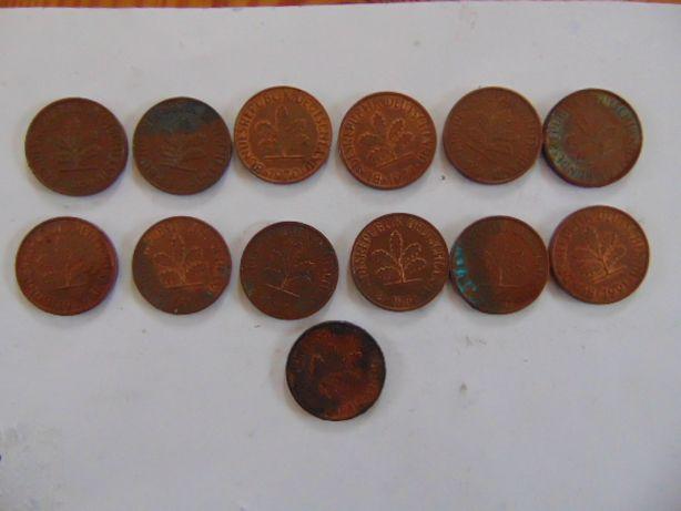 Monety niemieckie 2 fenigi