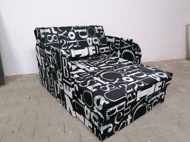 Fotel z funkcją spania amerykanka pojemnik na pościel Dostawa