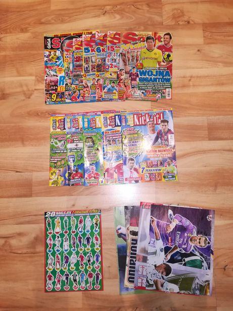 Gazety i plakaty sportowe +gratis naklejki