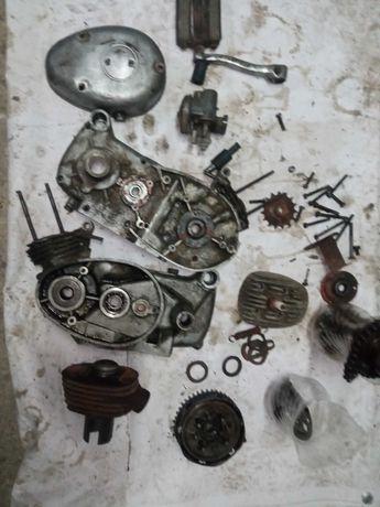 Silnik Simson sr2 Sr2e części karty głowica cylinder sprzęgło itp