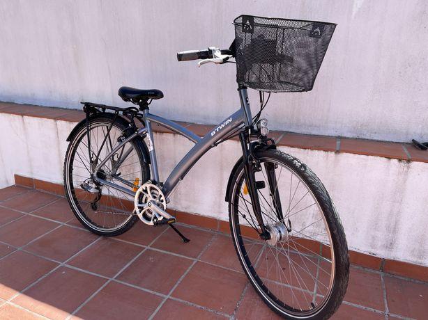 Bicicleta Citybike Btwin original 520 Semi-nova