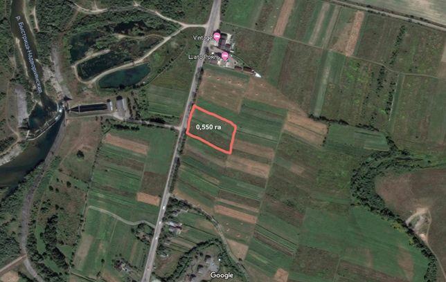 Продам ділянку с.Березівка на трасі Івано-Франківськ - Буковель
