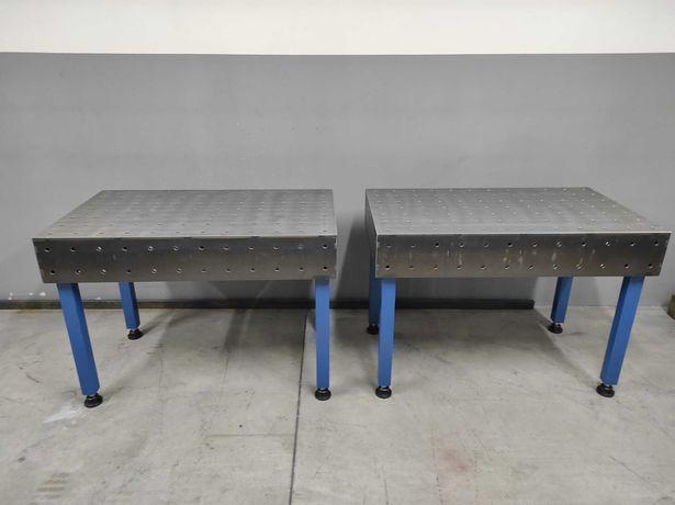 Stół 1200x700 frezowany spawalniczy montażowy, blat frezowany
