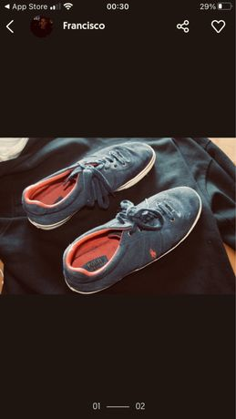 Sapatos Ralph Lauren - tamanho 44