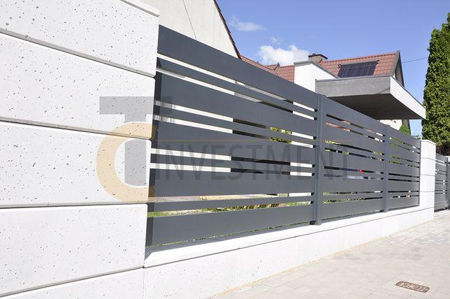 Białe bloczki pustaki ogrodzeniowe betonowe Bloczek ogrodzeniowy SLABB