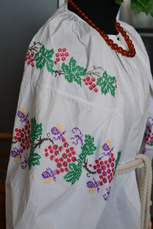 Старинная вышитая сорочка вышиванка, вишиванка старовинна