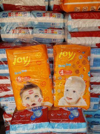 Подгузники памперсы Joy Джой 3-56,4-50,5-44 Доставка!