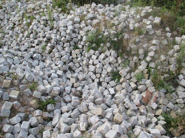 kostka granitowa staroużyteczna 10x10