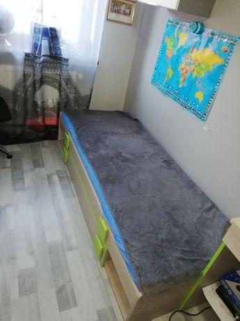 Łóżko dziecięce 2w1 ze skrzynią