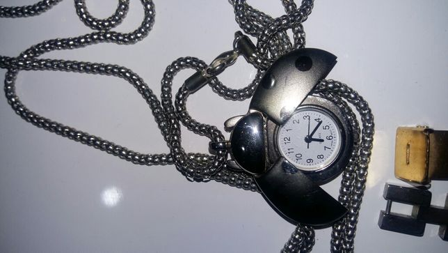 Naszyjnik biedronka zegarek